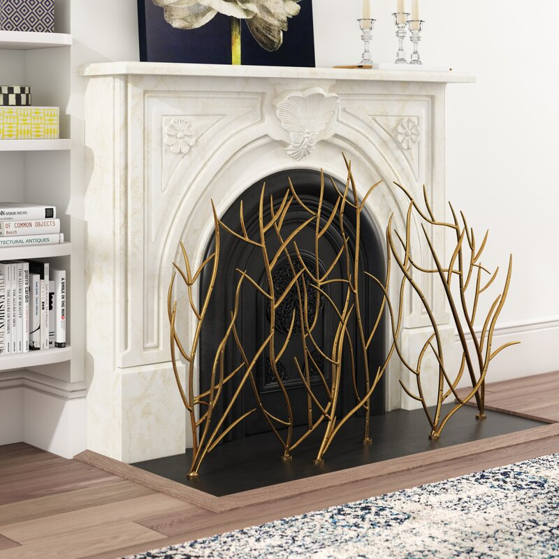 14 Best Modern Fireplace Screens 2021 Apartment Therapy