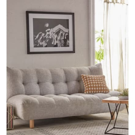 Peachy Light Blue Mid Century Modern Couch Apartment Therapys Pabps2019 Chair Design Images Pabps2019Com