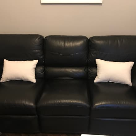 Groovy Vintage Italian Leather Sofa By Stella Apartment Therapys Gmtry Best Dining Table And Chair Ideas Images Gmtryco