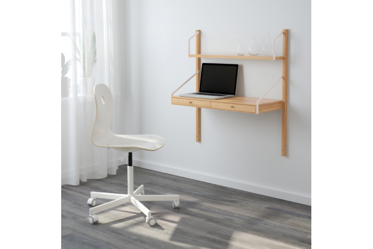 Desks small spaces Cheap Ikea Apartment Therapy The Best Desks For Small Spaces Small Space Desks Apartment Therapy