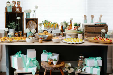 Rustic Bridal Shower Ideas Menu