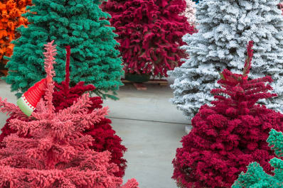 are real or fake christmas trees better for the environment apartment therapy