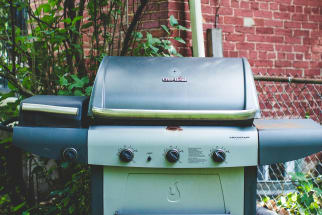 Clean Gas Grill