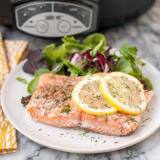 Salmon in the slow cooker