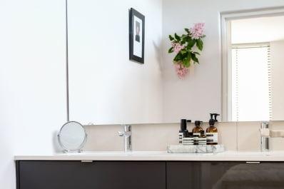 Frameless Bathroom Mirror Ideas   Easy Budget Upgrades | Apartment Therapy