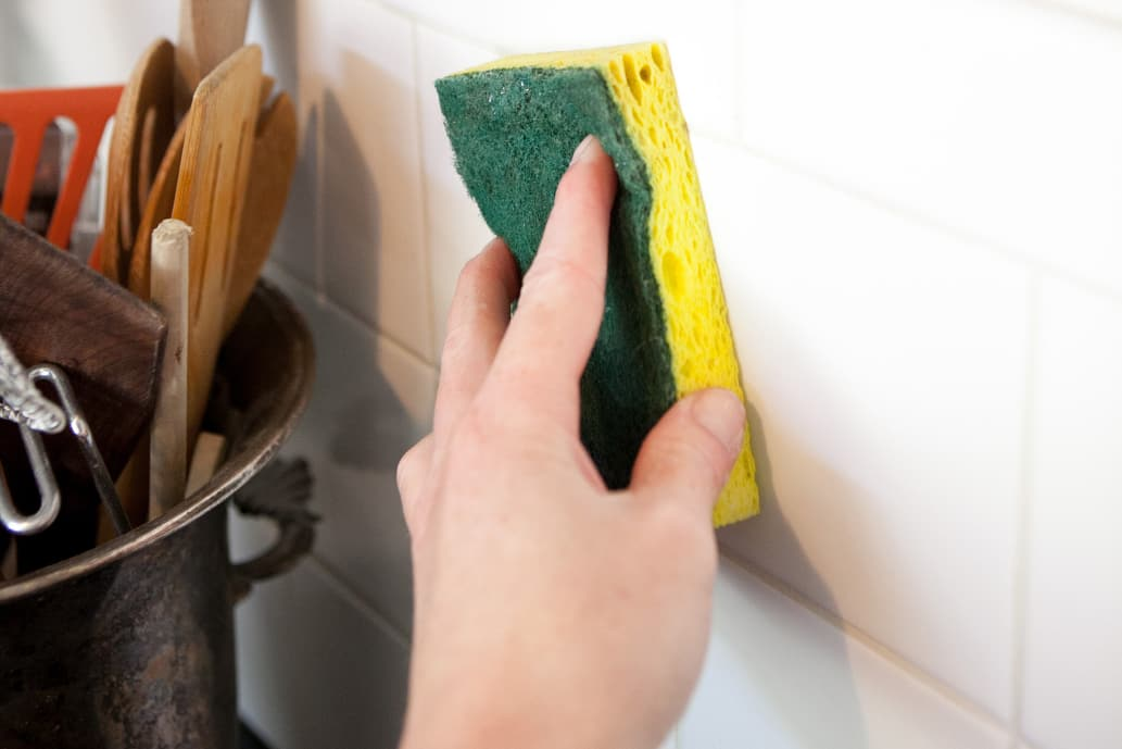 How To Clean Greasy Walls, Backsplashes, and Cabinets | Kitchn