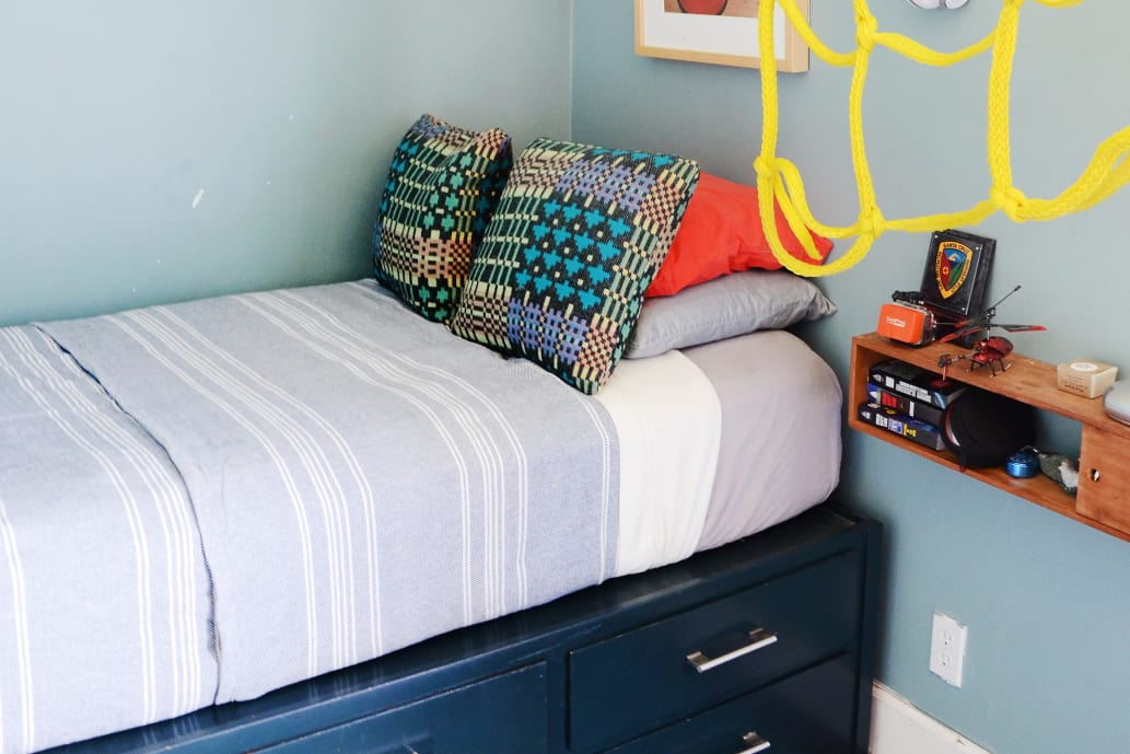 Image Result For Bed Built Over Stair Box: 6 DIY Ways To Make A Platform Bed With IKEA Products