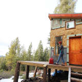 House Tour A Diy Self Sustainable Micro Cabin In Cali