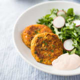 Sweet Potato-Chickpea Patties