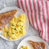 Fluffiest Scrambled Eggs