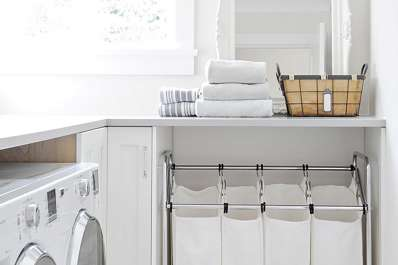 Clever Ideas to Make the Most of a Small Laundry Room | Apartment ...