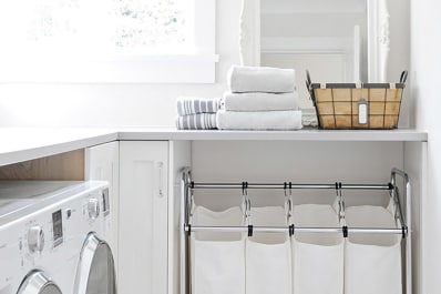 laundry room furniture home clever ideas to make the most of small laundry room apartment therapy