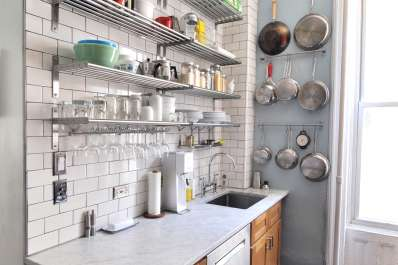 how to organize a small apartment kitchen a 7 step plan apartment therapy - Small Apartment Kitchen