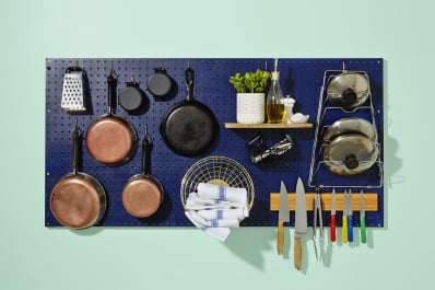 How to build a pegboard for the kitchen