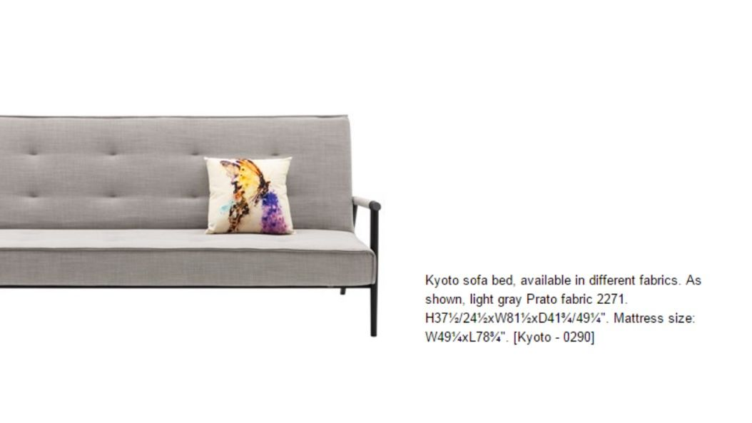 Bo Concept Kyoto Sofa Bed Super Deal Apartment Therapy S Bazaar