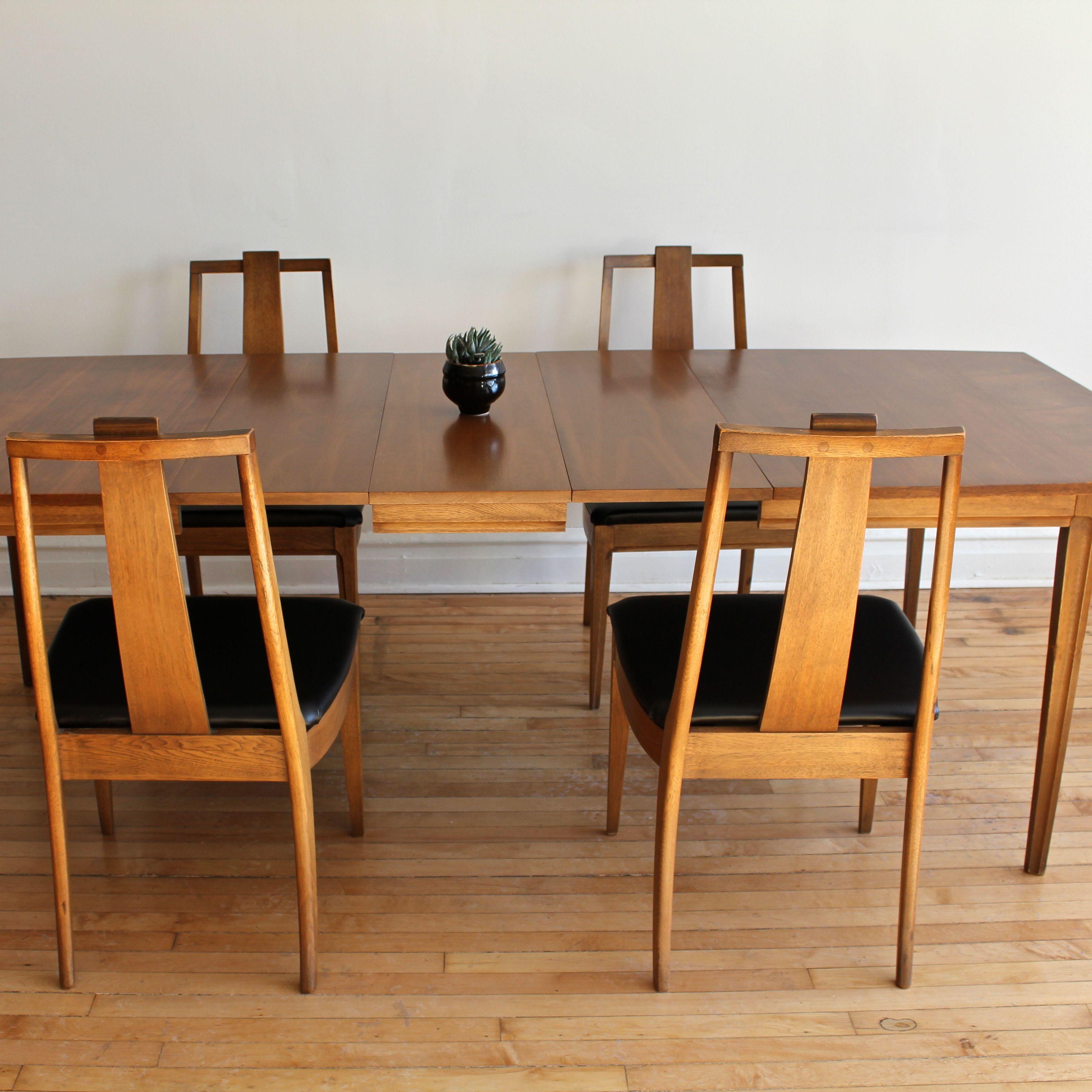 Mid Century Modern Broyhill Forward 70 Dining Set Apartment Therapy S Bazaar