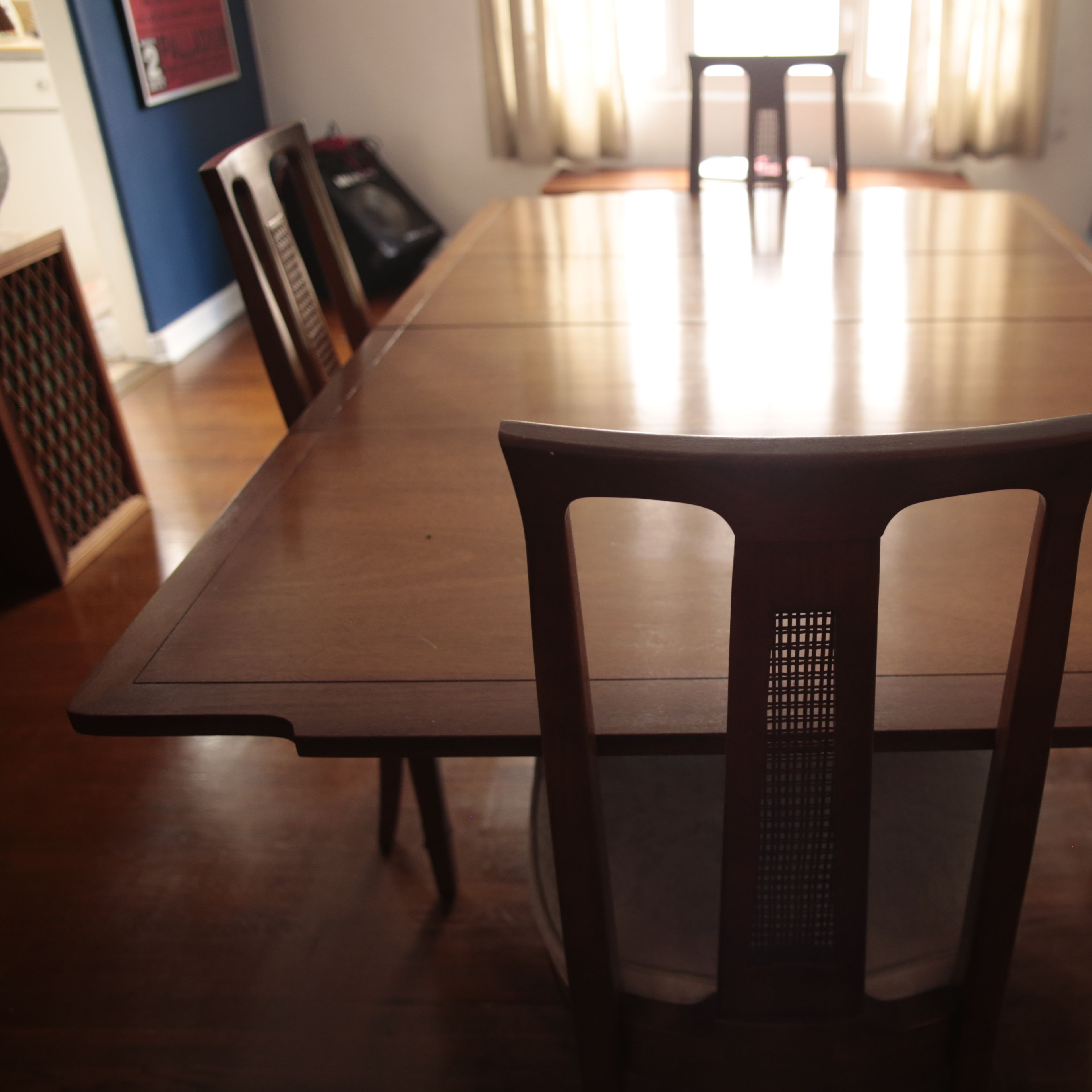 Midcentury Triune By Drexel Dining Table Apartment Therapy S Bazaar