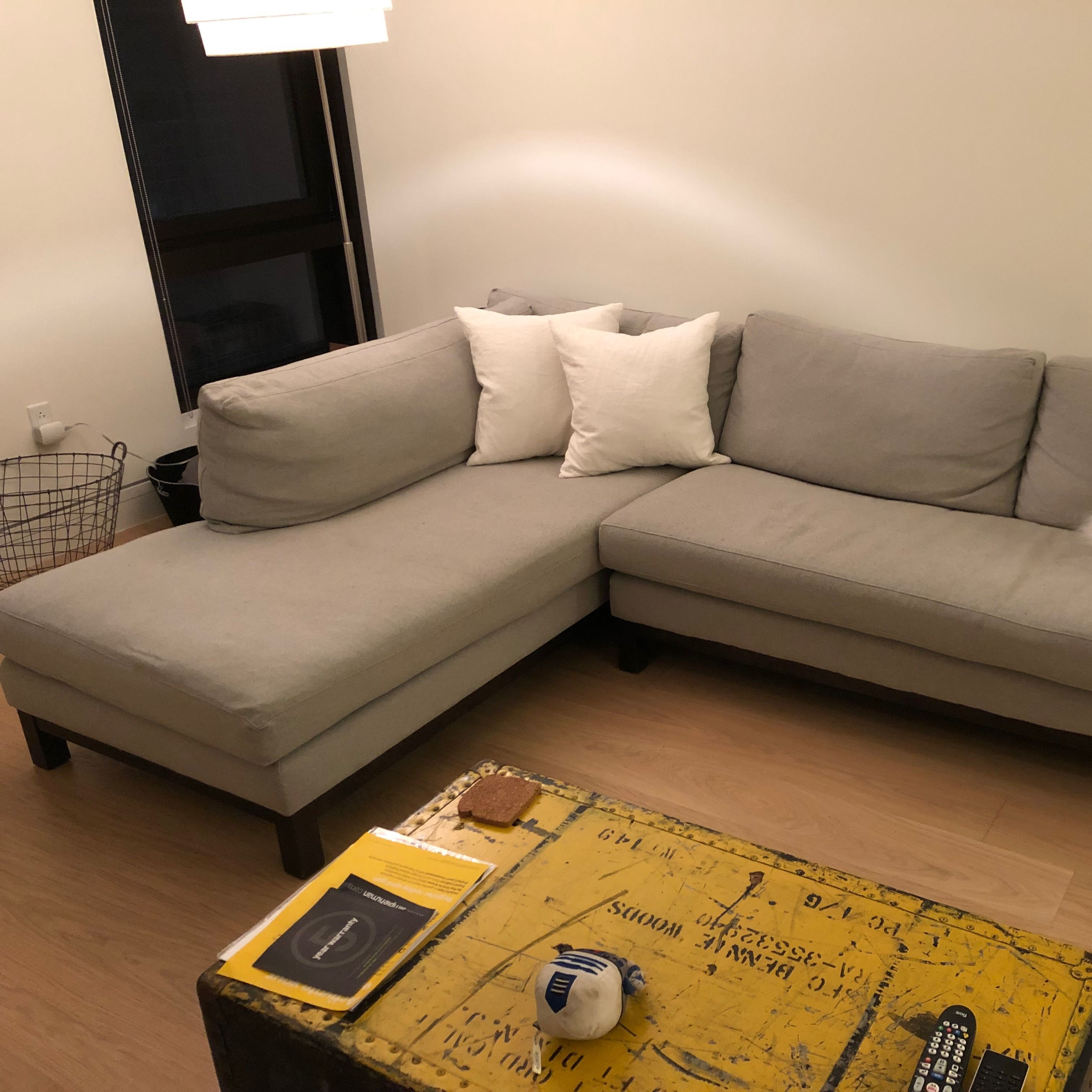 Enjoyable Abc Home Cobble Hill Prescott Sectional Sofa Cjindustries Chair Design For Home Cjindustriesco