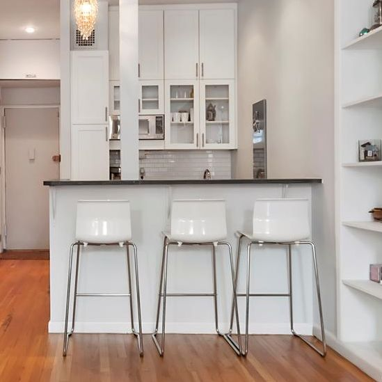 Pleasing 3 White Ikea Glenn Bar Stools Chrome Plated Gmtry Best Dining Table And Chair Ideas Images Gmtryco