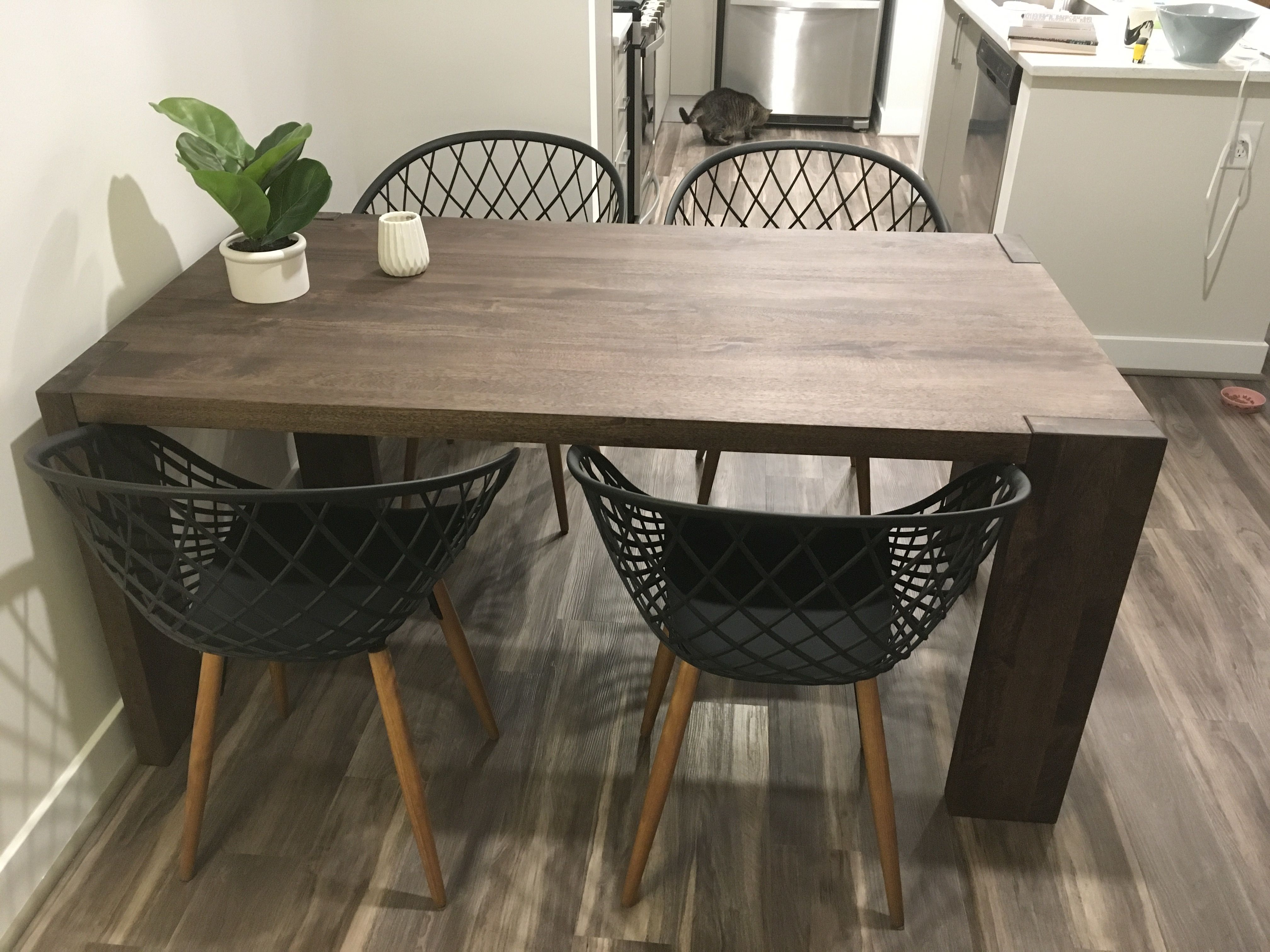 Blox 35x63 Dining Table Sidera Chair Apartment Therapy S Bazaar