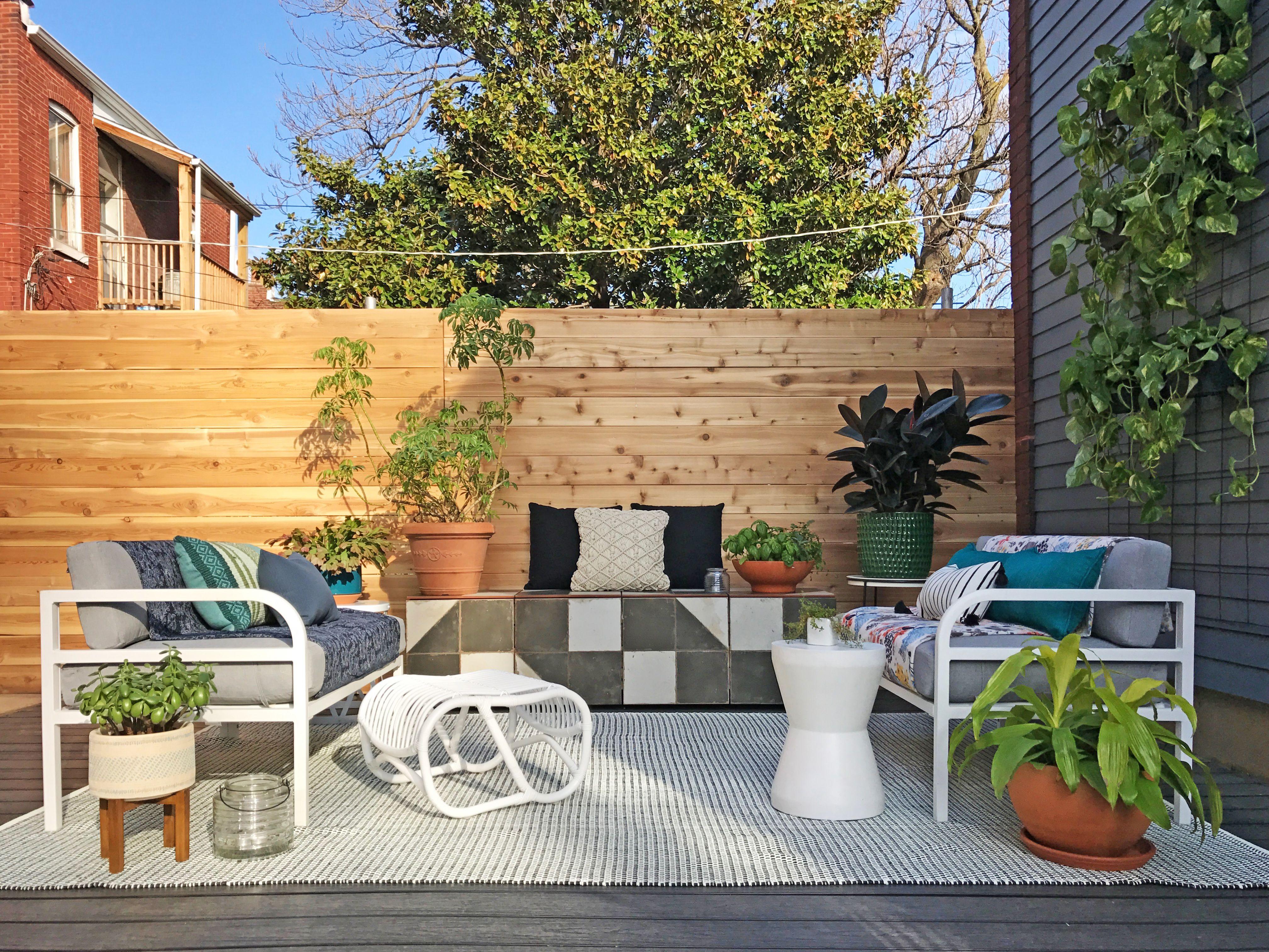 Backyard Apartment next-level outdoor makeover of a bare lifeless backyard | apartment