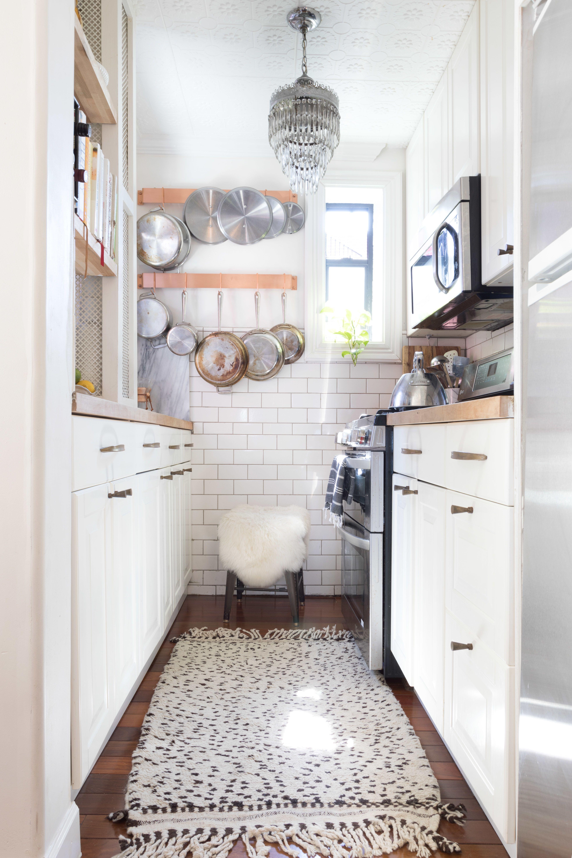 Teeny, Tiny NYC Kitchen Inspiration