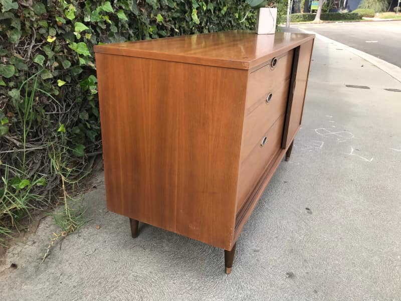 Mid Century Modern 6 Drawer Dresser Changing Table Apartment Therapy S Bazaar