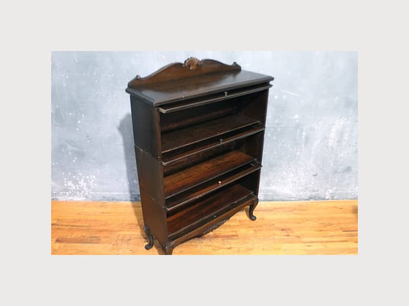 Lundstrom Three Tier Barrister Bookcase