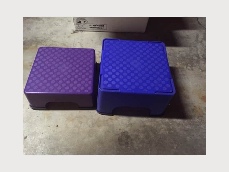 The Firm Body Sculpting videos and step box