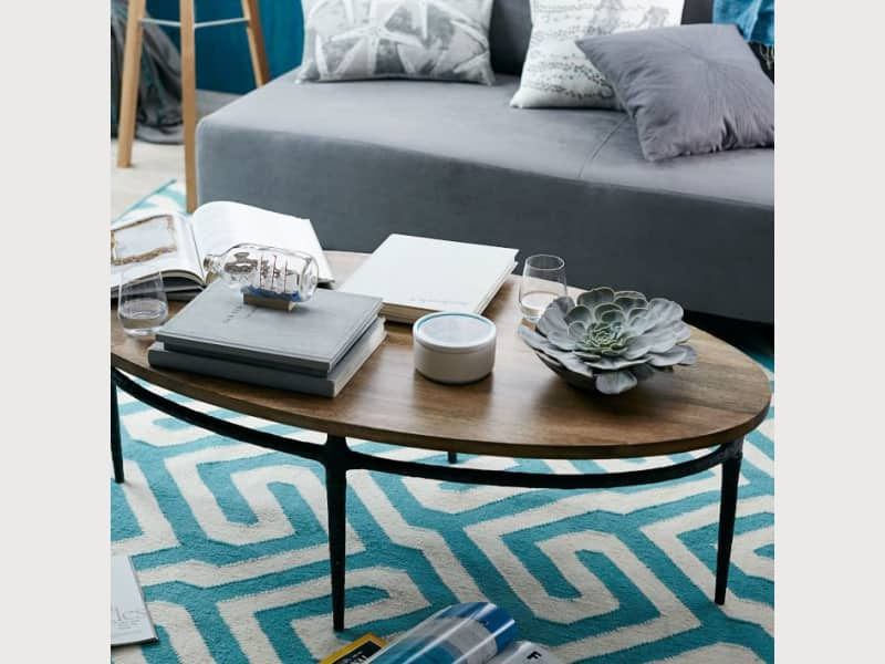 West Elm Cast Base Coffee Table Apartment Therapy S Bazaar