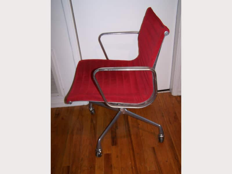 Vintage Herman Miller Eames Aluminum Group Chair