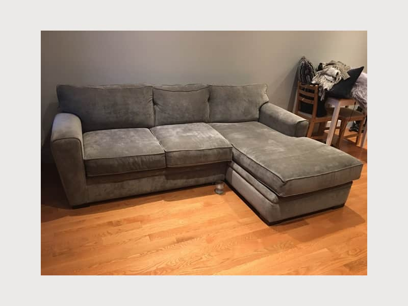 Artemis Ii Sectional Sofa Raymour Flanigan Apartment Therapy S