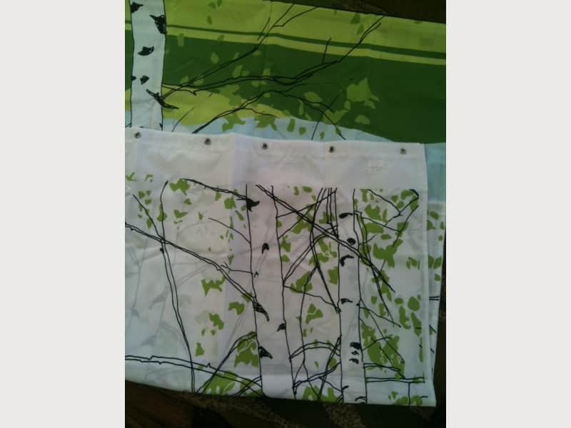 Marimekko Birch Trees Shower Curtain Apartment Therapy S