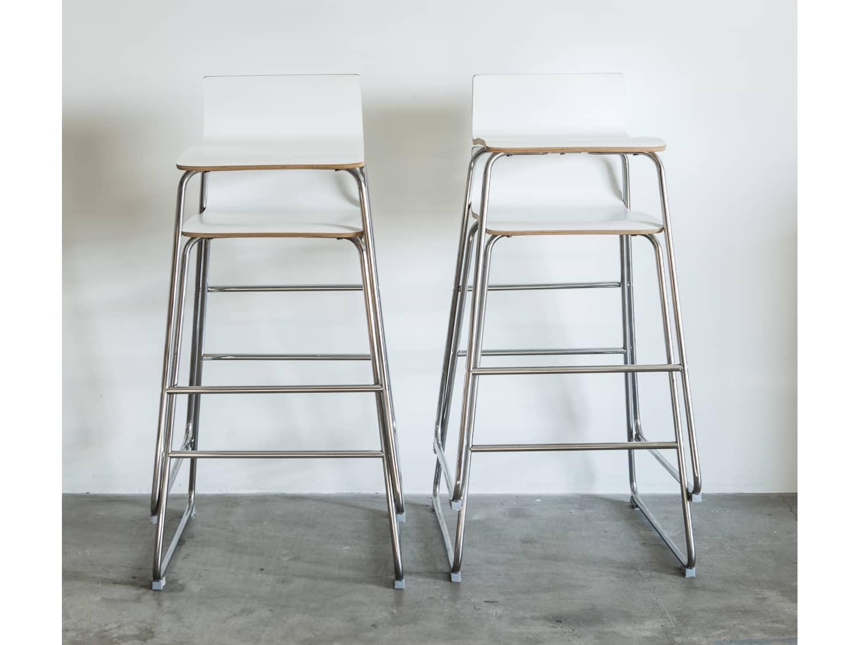 Fabulous 2 Ikea Sebastian Bar Stools 29 Apartment Therapys Bazaar Pdpeps Interior Chair Design Pdpepsorg