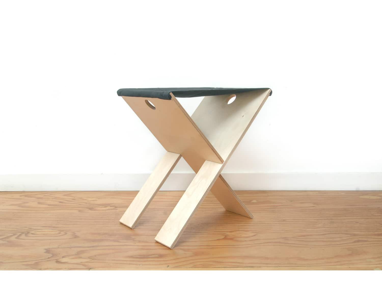 Pleasant Baltic Birch Folding Stool By Newmade La Creativecarmelina Interior Chair Design Creativecarmelinacom