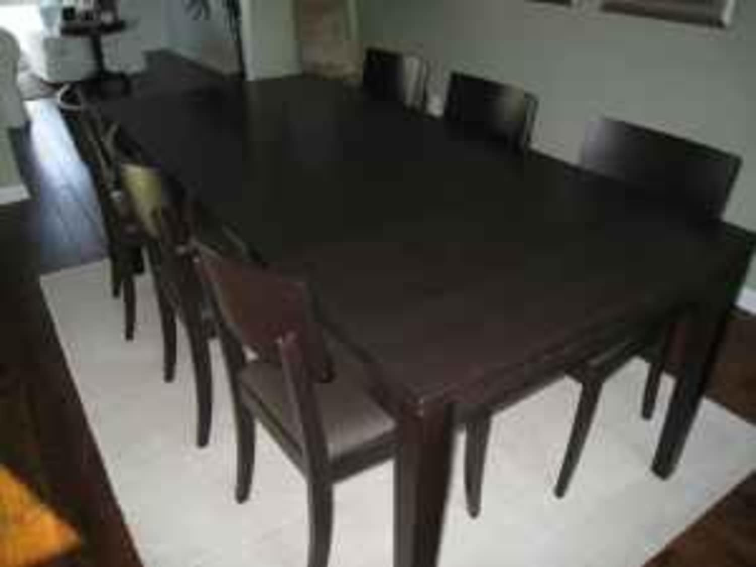 Crate & Barrel Madison Dining Table and Chairs (4 ...