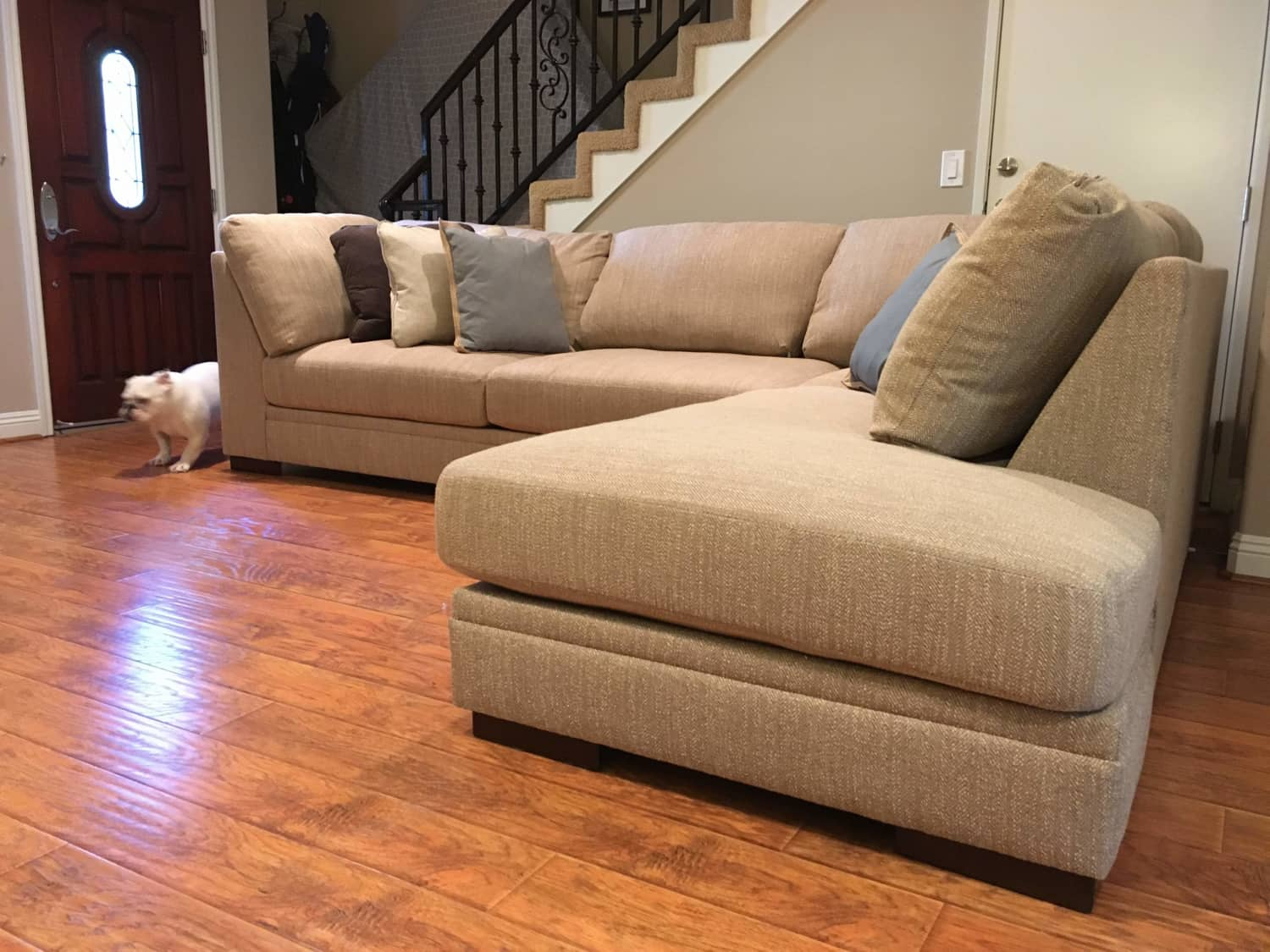 Stupendous New 2 Piece Sectional Couch Malakoff Apartment Ibusinesslaw Wood Chair Design Ideas Ibusinesslaworg