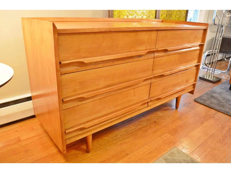 rare mid century daish style crawford dresser - apartment