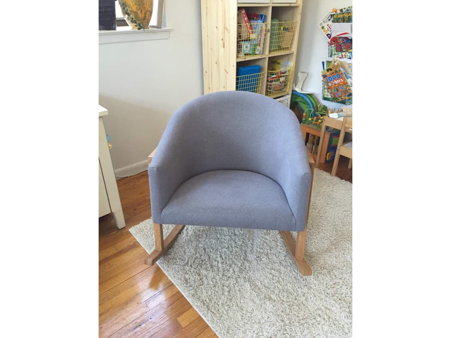 Marvelous West Elm Ryder Rocking Chair Perfect Condition Apartment Inzonedesignstudio Interior Chair Design Inzonedesignstudiocom