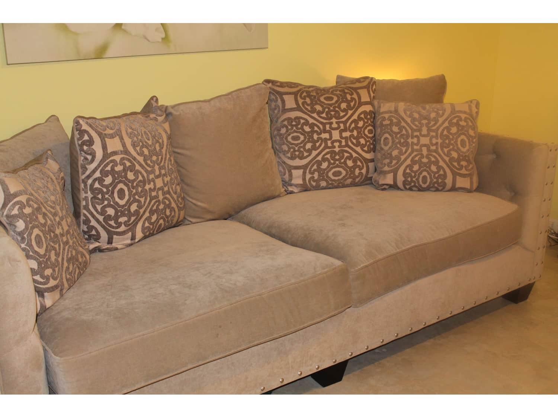 Cindy Crawford Calista Microfiber Sofa Loveseat Apartment