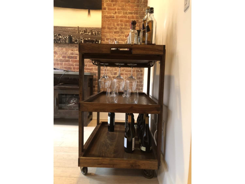 Crate & Barrel Collins Bar Cart NOW $550! - Apartment ...