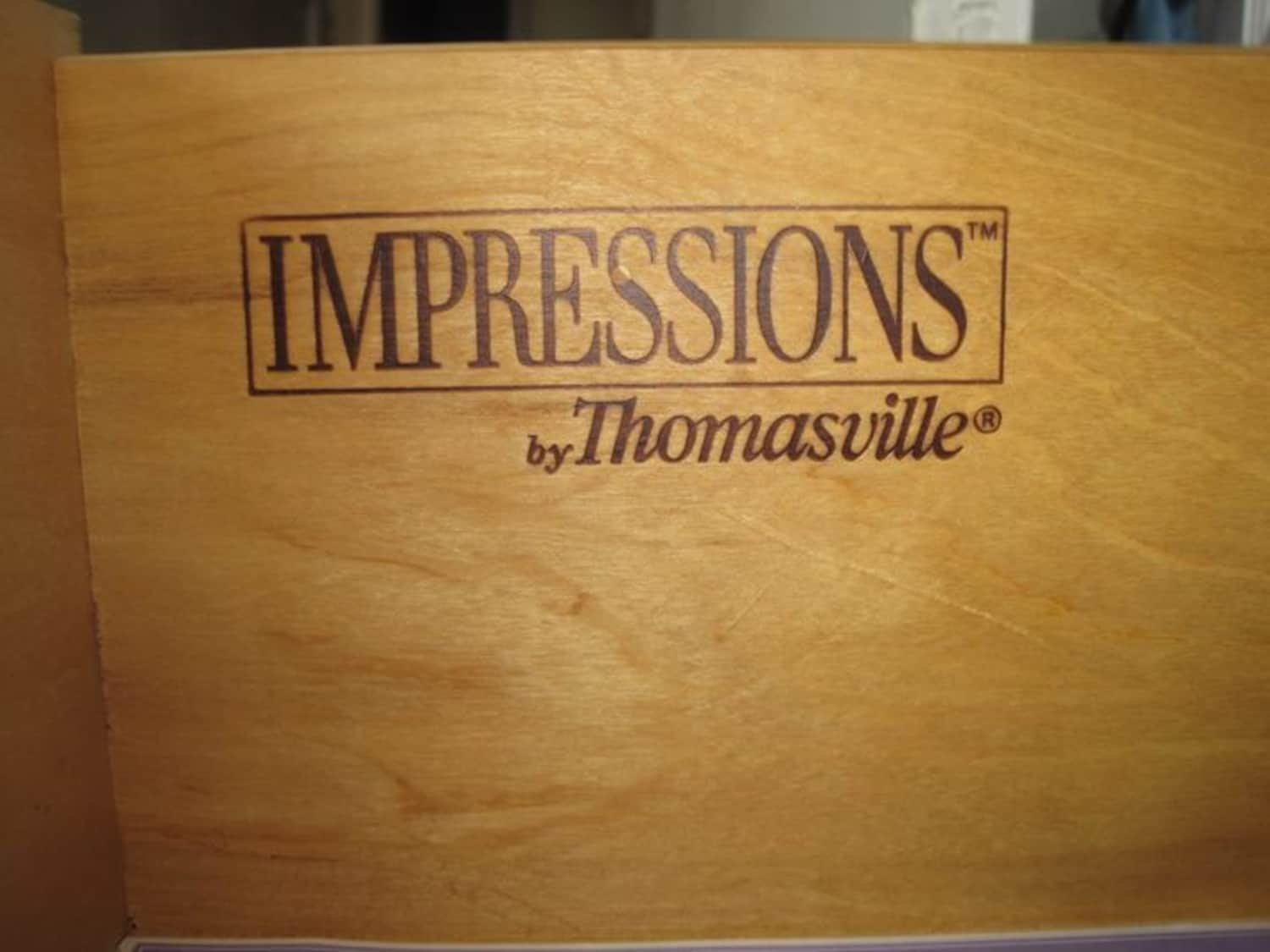 Impressions By Thomasville 4 Pc Shaker Mission Bed Apartment