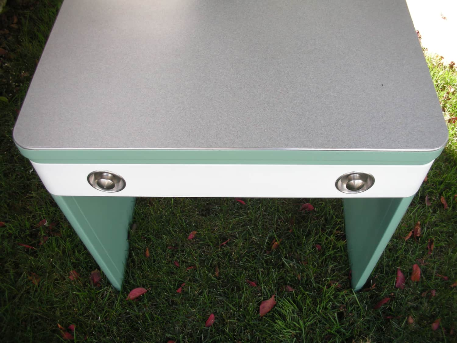 Extremely Rare Norman Bel Geddes Steel Desk Apartment