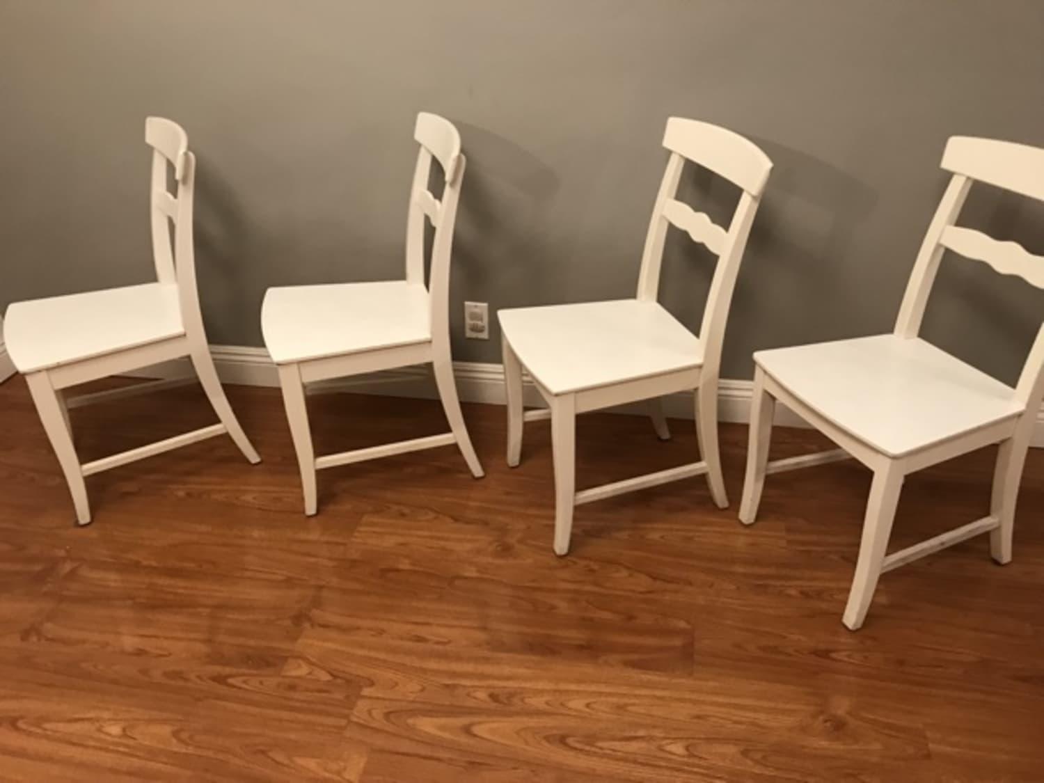 Bazaar Chairs Set Lanni Ikea Therapy's Apartment of 4 White Ygbv7fy6