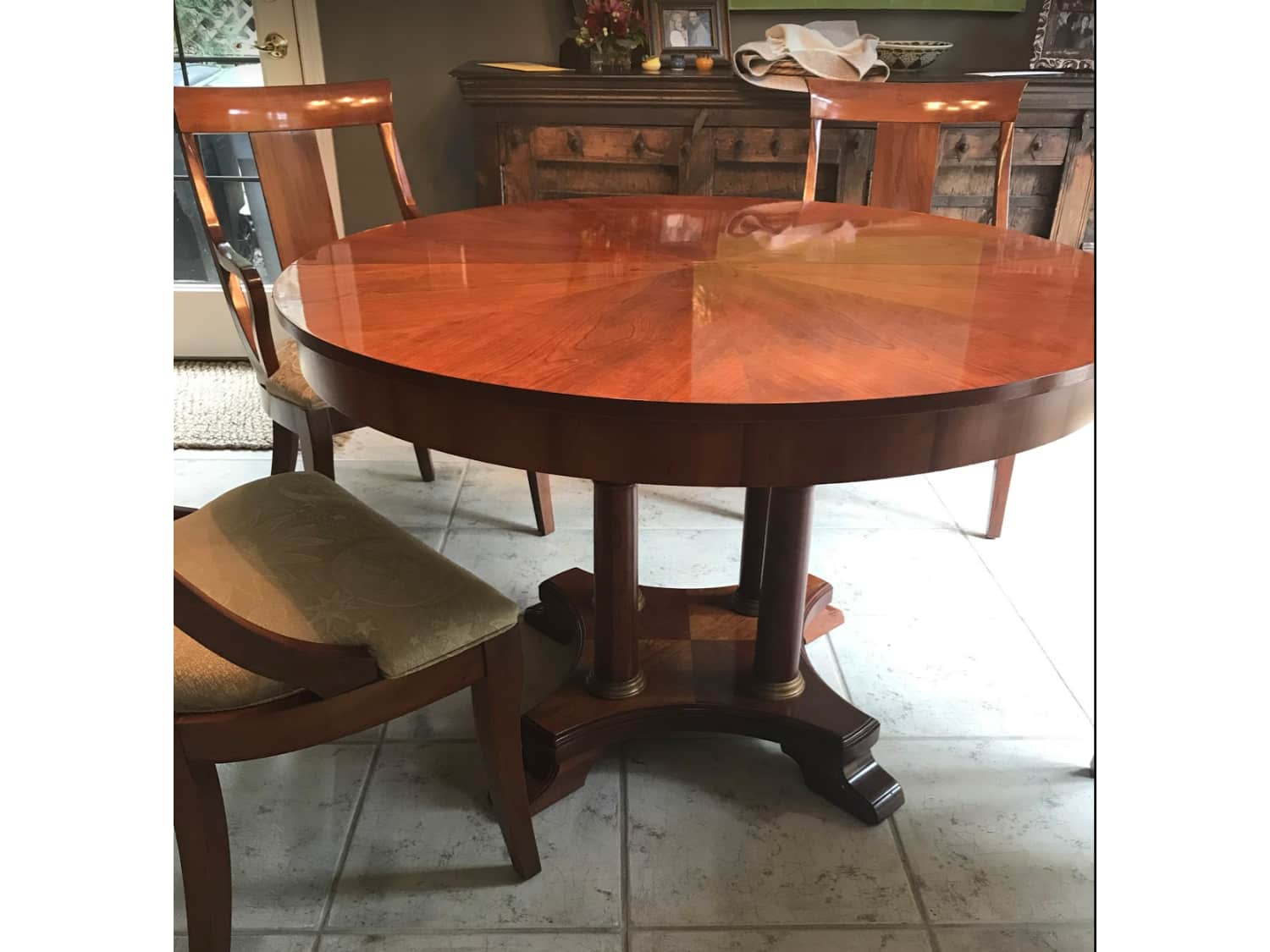 Ethan Allen Solid Cherry Dining Room Sets