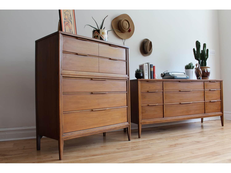 Mid Century Modern Kent Coffey Bedroom Set Apartment Therapy S Bazaar