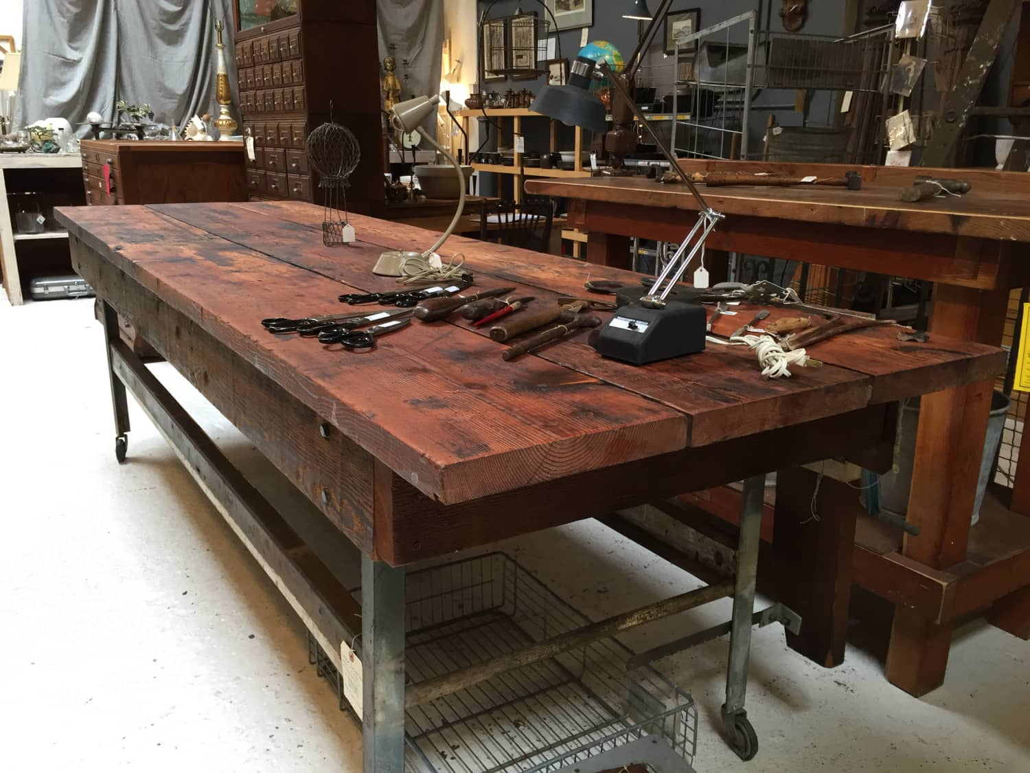 Excellent 9 Foot Industrial Wooden Workbench Work Table Apartment Unemploymentrelief Wooden Chair Designs For Living Room Unemploymentrelieforg