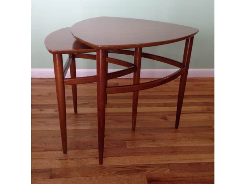 Morganton Triangle Nesting Tables