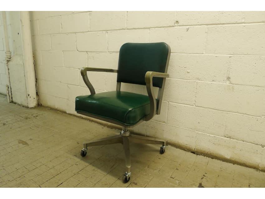 Vintage Steel Case Office Chair