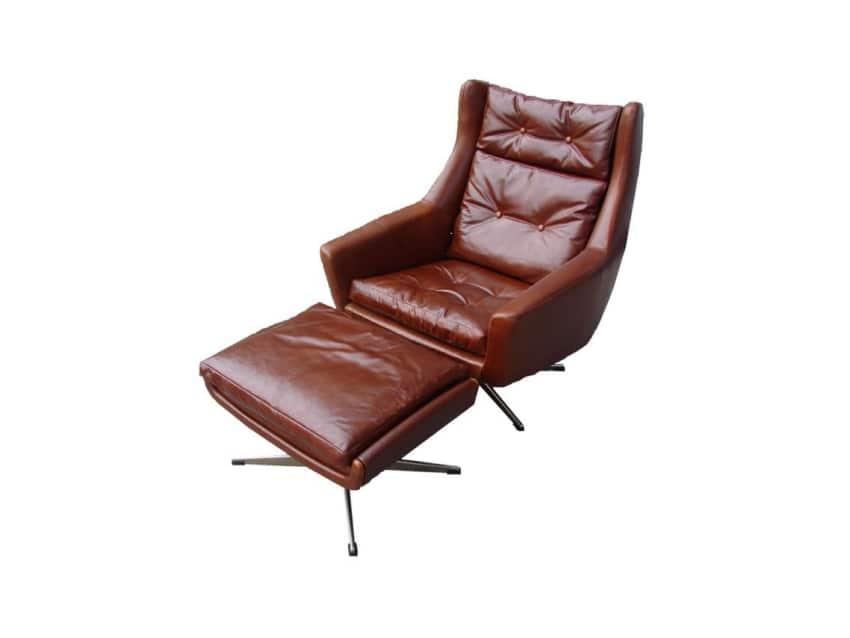 John Stuart Mid Century Lounge Chair Amp Ottoman Apartment